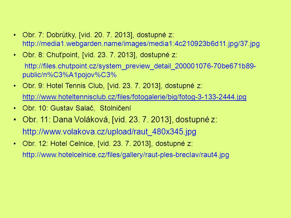 Obr. 11: Dana Voláková, [vid. 23. 7. 2013], dostupné z: